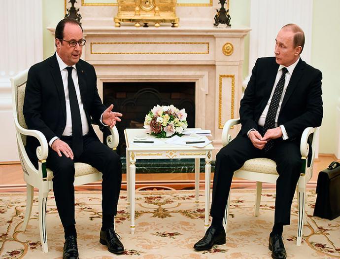 Estamos dispuestos a cooperar en coalición contra el Estado Islámico: Vladimir Putin