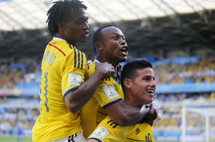 Jugadores colombianos cotizados mundialmente