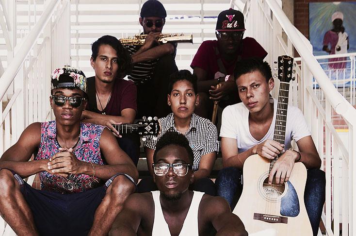 La historia de 'Alto volumen', la banda de música urbana de Aguablanca que triunfó en México