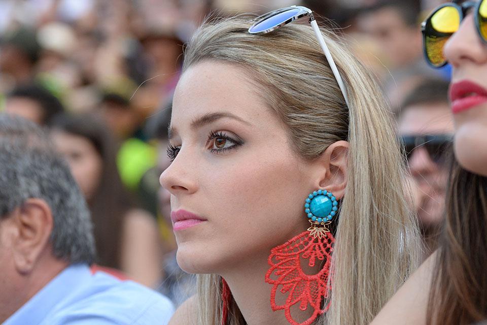 El 'espectáculo' de mujeres hermosas en la Feria de Cali 2015 - elpais.com.co