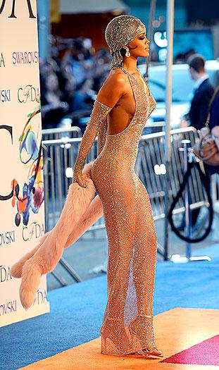 Rihanna y la transparencia que paralizó a Nueva York