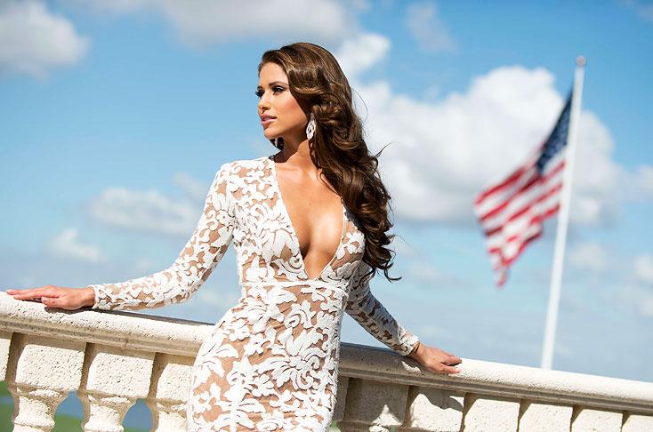 Imágenes: candidatas a Miss Universo se roban las miradas en La ...