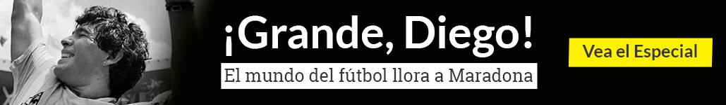 ¡Grande, Diego!: vida, goles y polémicas de un dios del fútbol