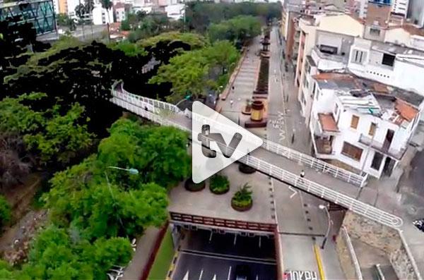 Video: El bulevar del Río como nunca antes lo ha visto
