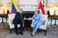 Duque se reúne con Theresa May en Londres, este lunes