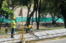 Obras en Parque del Acueducto avanzan en un 60%