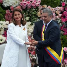 En video: Duque asumió la presidencia de Colombia en una ceremonia llena de folclor