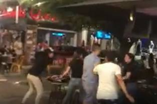 Video: repudio por tremenda pelea en pleno centro comercial de Palmira