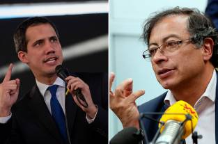 Rifirrafe entre Guaidó y Petro por acusaciones del líder opositor venezolano