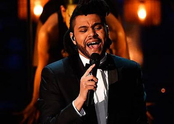 Cantante 'The Weeknd'.