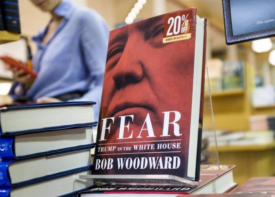 Fear Bob Woodward Donald Trump