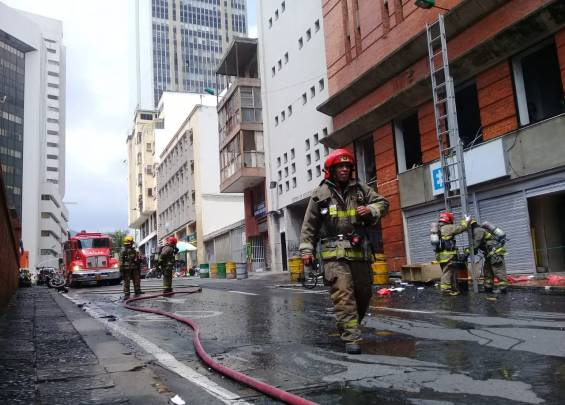 An explosion in the headquarters of the Cali Prosecutor's Office