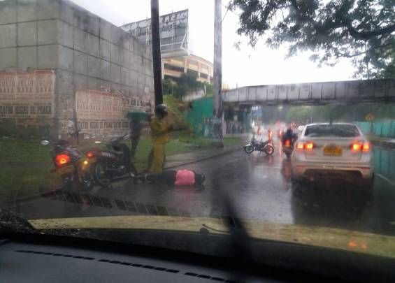 Accidente Lluvias