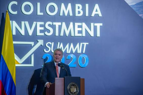 Colombia Investment Submmit, imagen de referencia