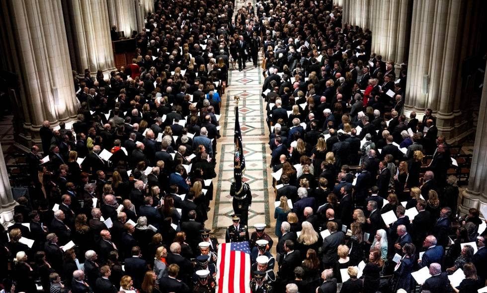Funeral de George H.W. Bush en Washington 02