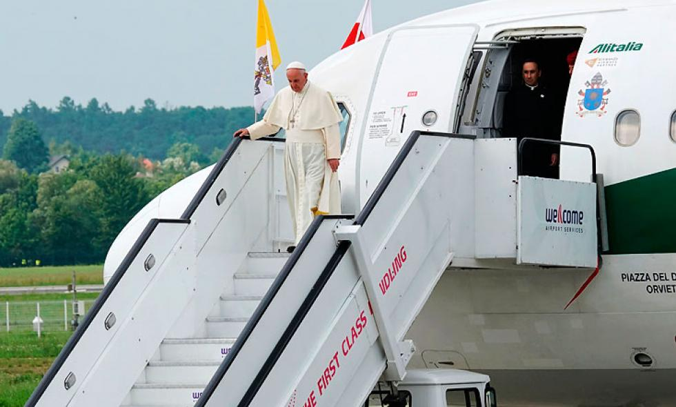 El papa Francisco ratificó su visita a Colombia en 2017