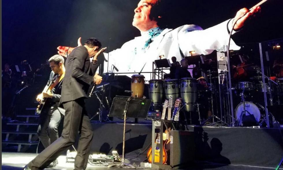 En video: Marc Anthony rompe en llanto al recordar a Juan Gabriel