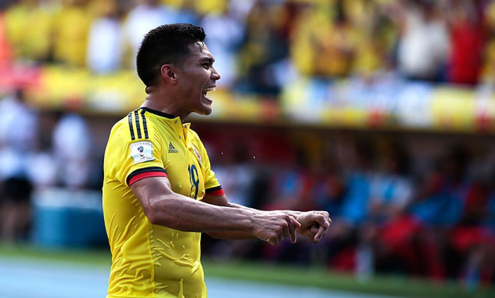 Teófilo Gutiérrez anotó el gol 100 de Colombia como local por eliminatorias