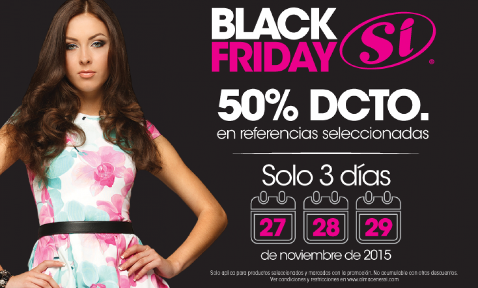 Celebra el 'black friday' en el Sí