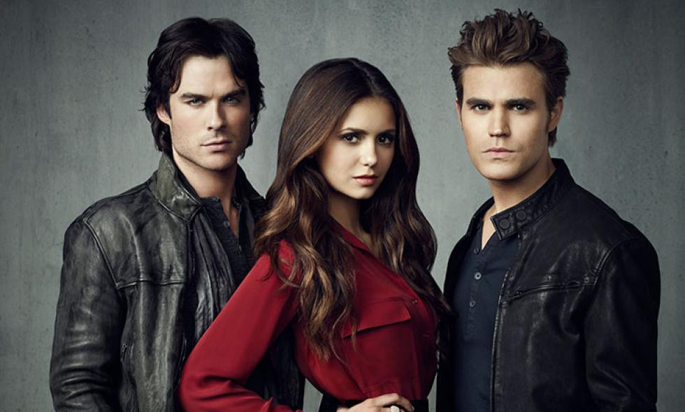 El trío vampiro de 'The Vampire Diaries'