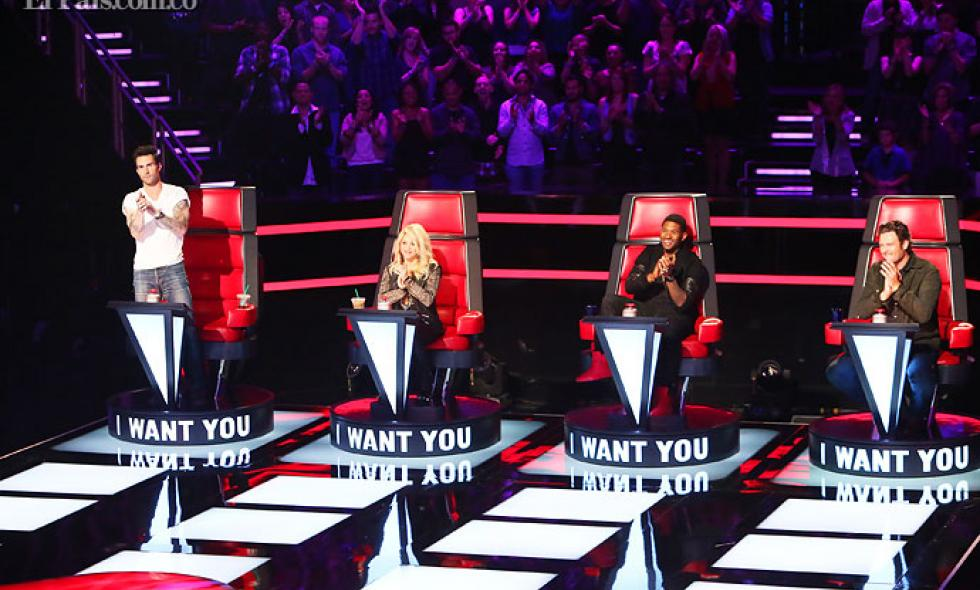 Shakira cautivó a la audiencia estadounidense en su debut en el popular programa 'The Voice'