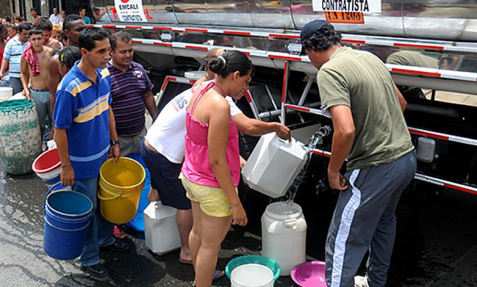 Emergencia en Villagorgona por escasez de agua potable