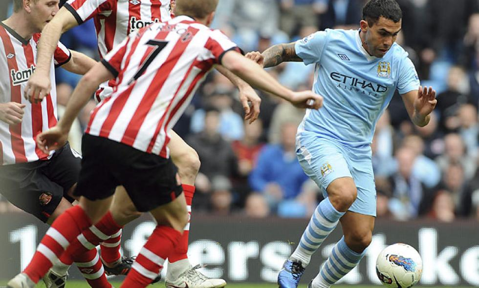 Manchester City remonta y empata contra Sunderland