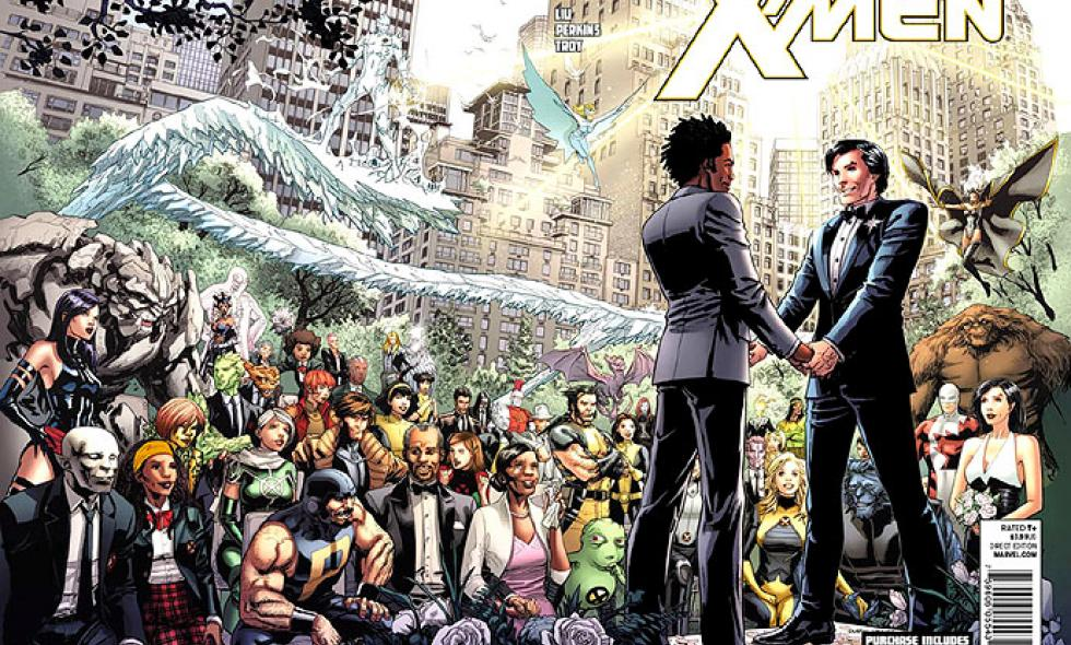 Superhéroes de Marvel se casan en matrimonio gay