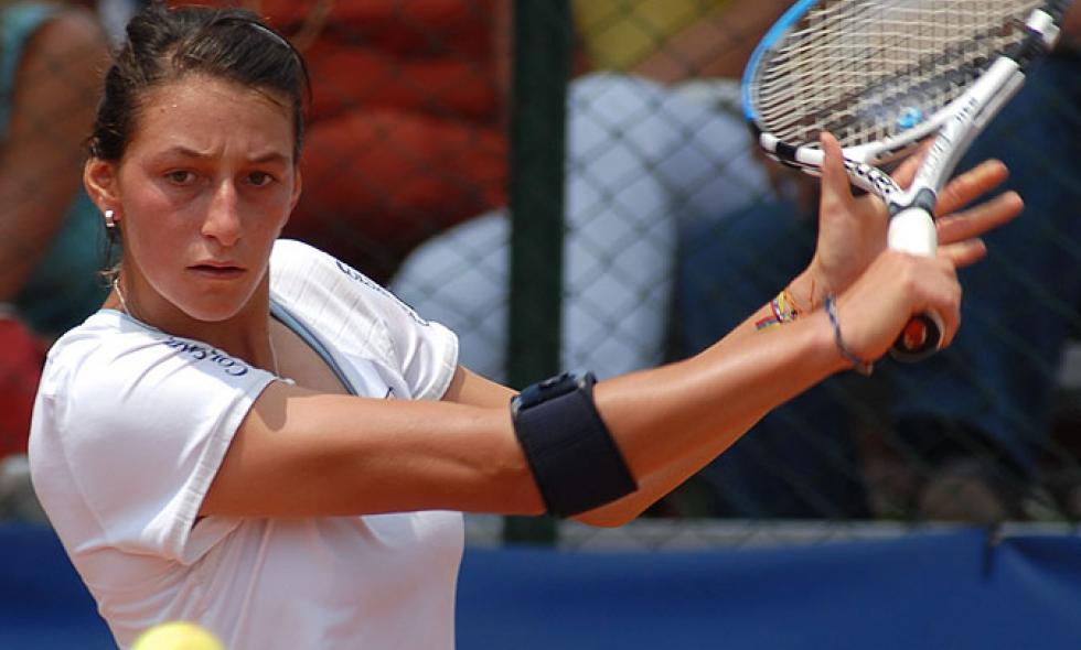 Mariana Duque clasifica a la Final de Dobles en 'Rock Hill'