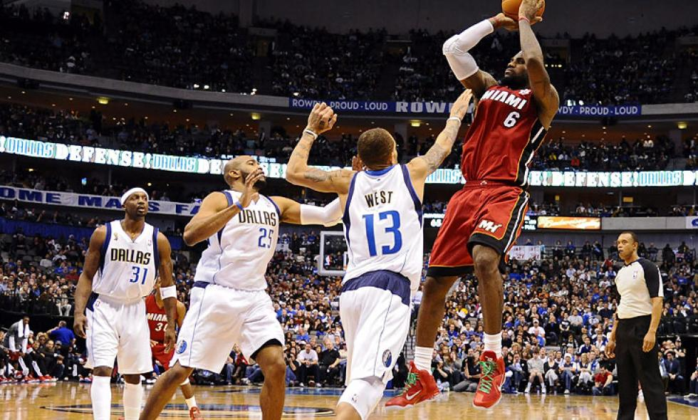 Los Heat de Miami tomaron revancha ante Mavericks