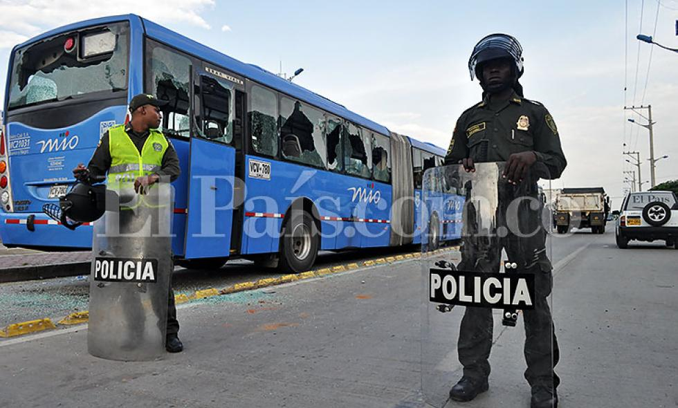Video: protesta de transportadores infartó movilidad de Cali, panorama de la jornada