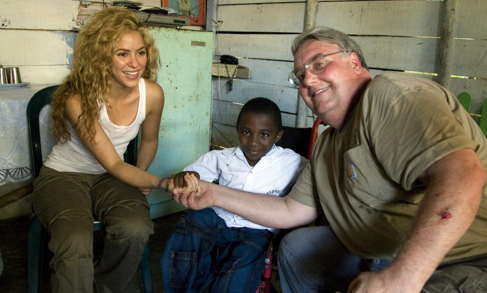Howard G. Buffett y Shakira