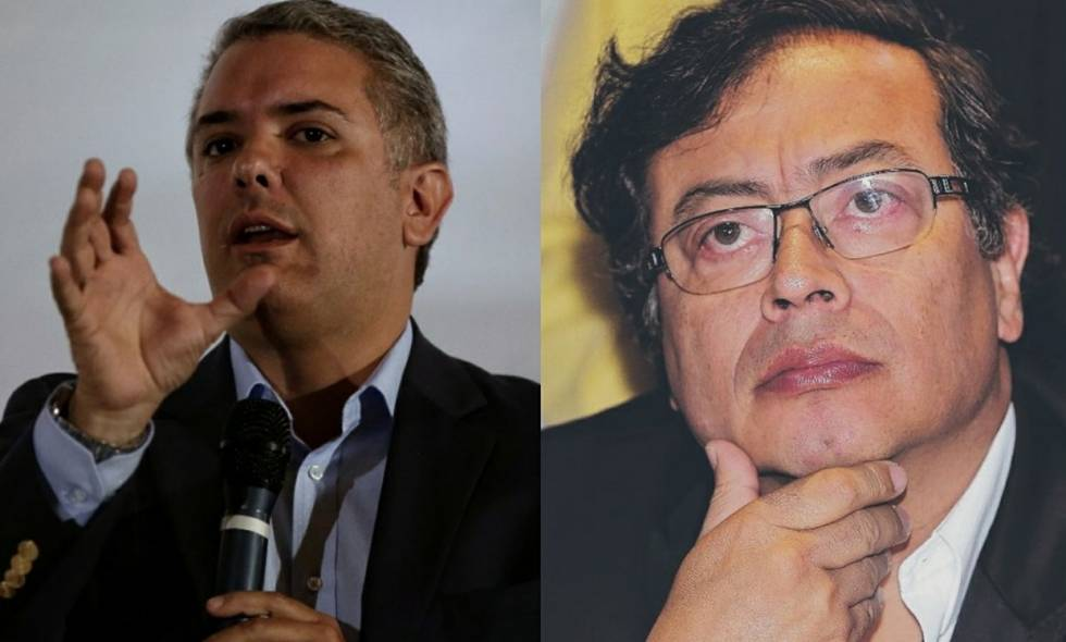 Iván Duque vs Petro