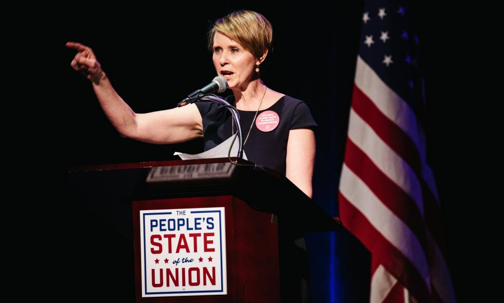 Cynthia Nixon, actriz de Sex and The City