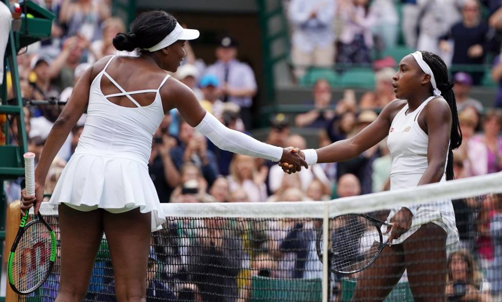Cori Gauff  Venus Williams
