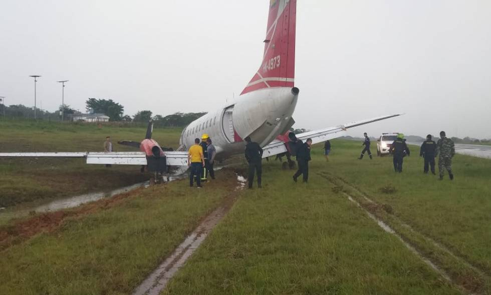 Accidente de avión en La Macarena