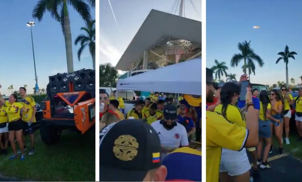 Colombianos en Miami