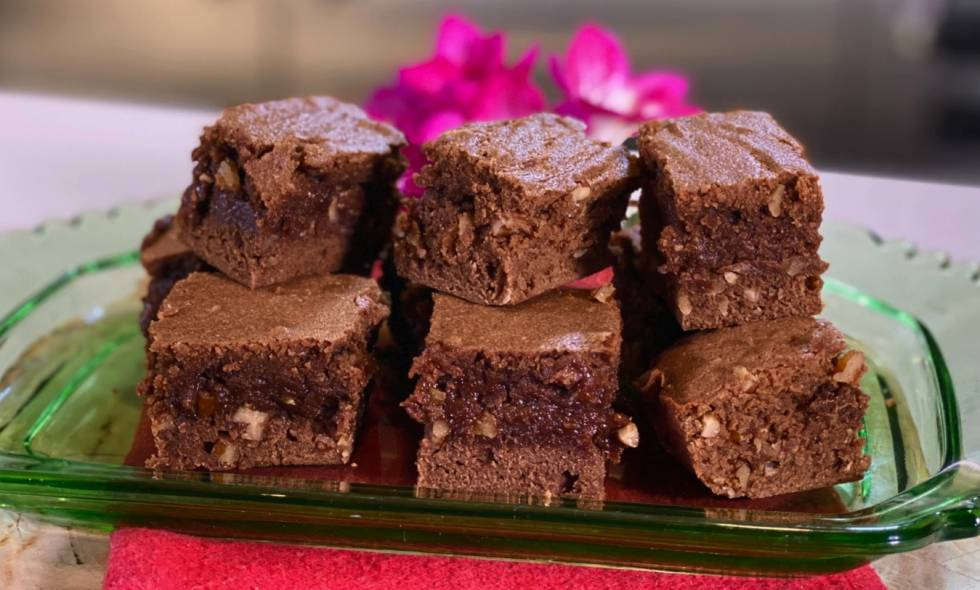 Brownies San Valentín