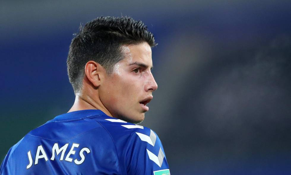 james rodriguez everton