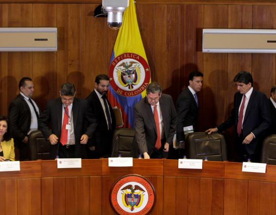 Audiencia Corte acto legislativo paz