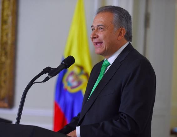 General (r) Óscar Naranjo, vicepresidente de Colombia.