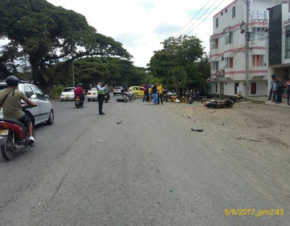 Accidente Tuluá 6 sept 2017