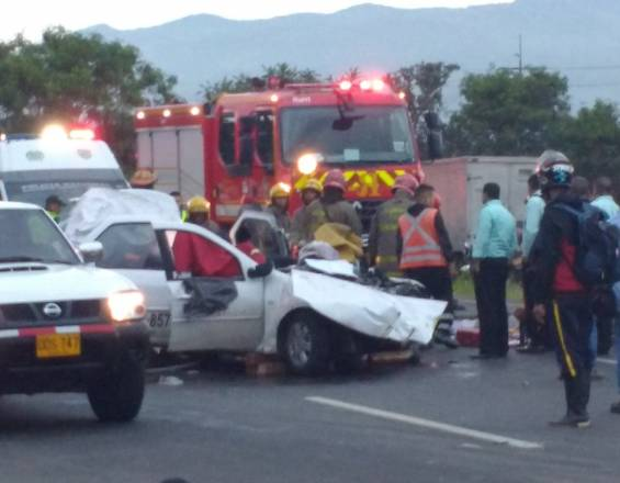 Accidente Cali Palmira