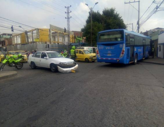 Accidente tránsito