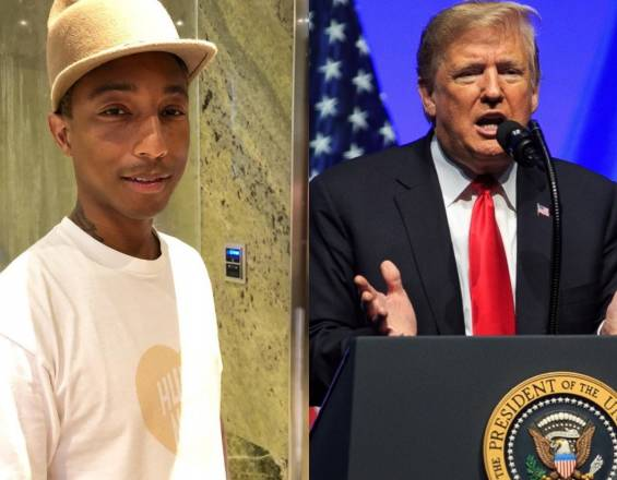Pharrell Williams planea denunciar a Trump por usar su canción 'Happy' tras tiroteo