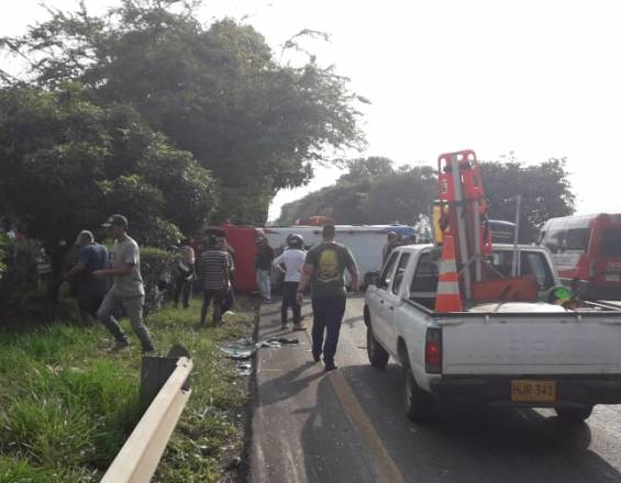 Accidente de tránsito Buga Tuluá