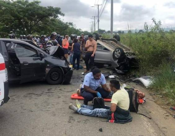 Accidente en la Cañasgordas