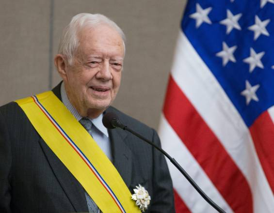 Jimmy Carter, expresidente de Estados Unidos