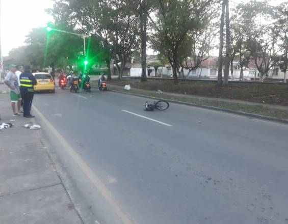 Accidente de tránsito en Tuluá
