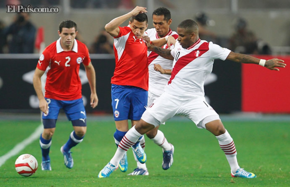 Perú vs. Chile 13